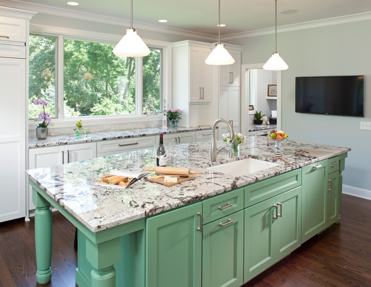 10 Ways To Incorporate Your Personality Into Your Kitchen Design Kitchen Remodel Kitchen Cabinet Remodel Green Kitchen Cabinets