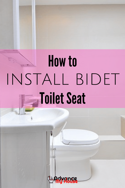 How to Install Bidet Toilet Seat Bidet toilet seat, Toilet