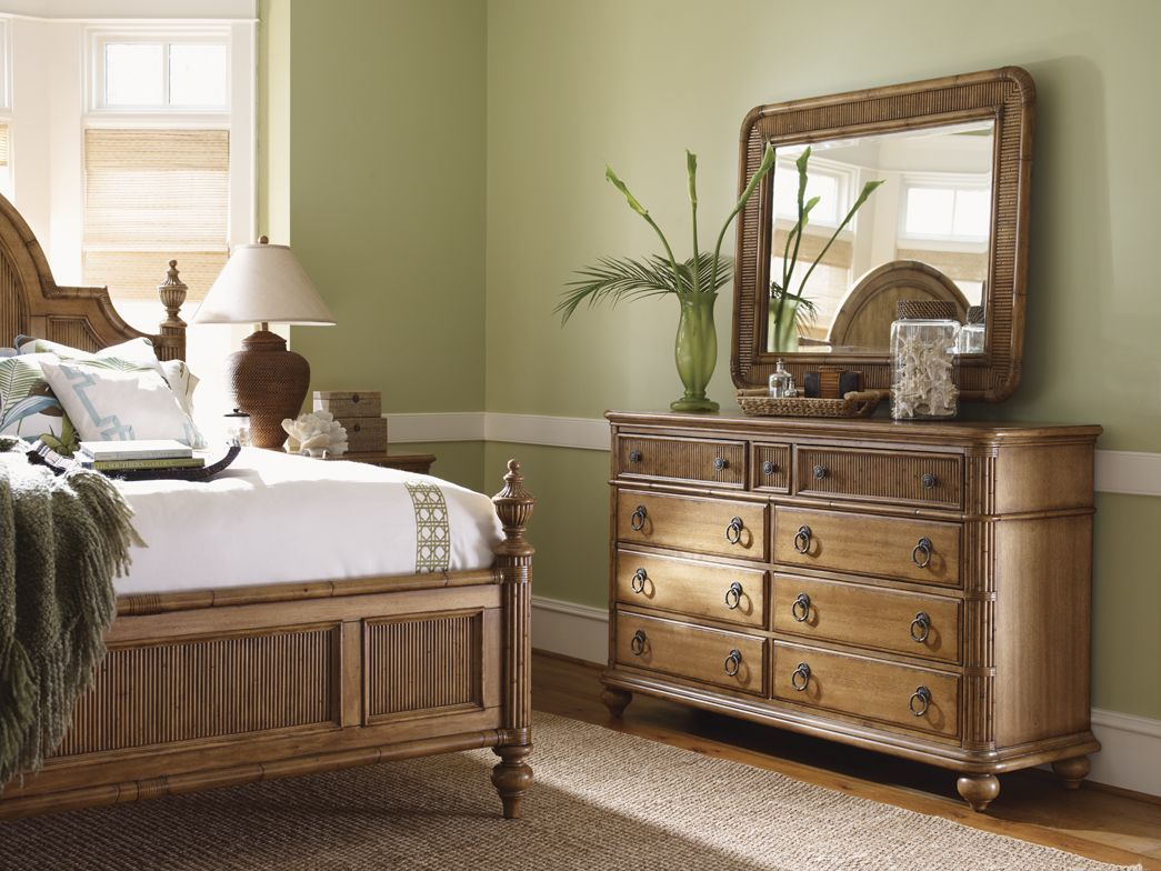 Beach House Belle Isle Bed, Biscayne Dresser and Osprey