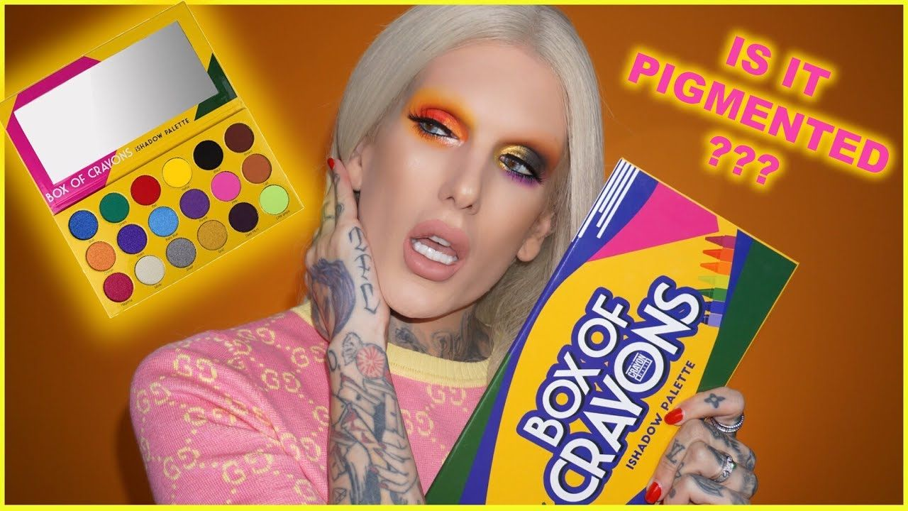 BOX OF CRAYONS EYESHADOW PALETTE... Is It Jeffree Star