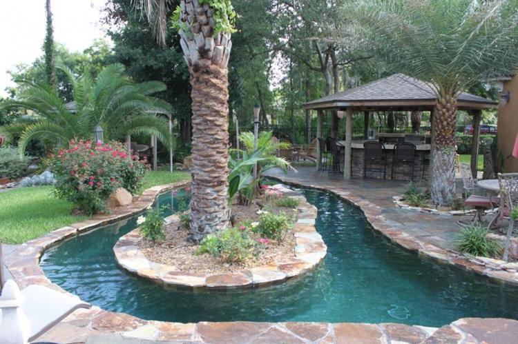 42+ Wonderful Lazy River Pool Ideas | Lazy river pool ...