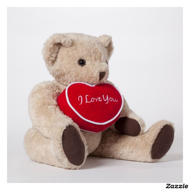 Personalized Teddy Bear With Message Pillow Personalised Teddy Bears Teddy Bear Cute Stuffed Animals