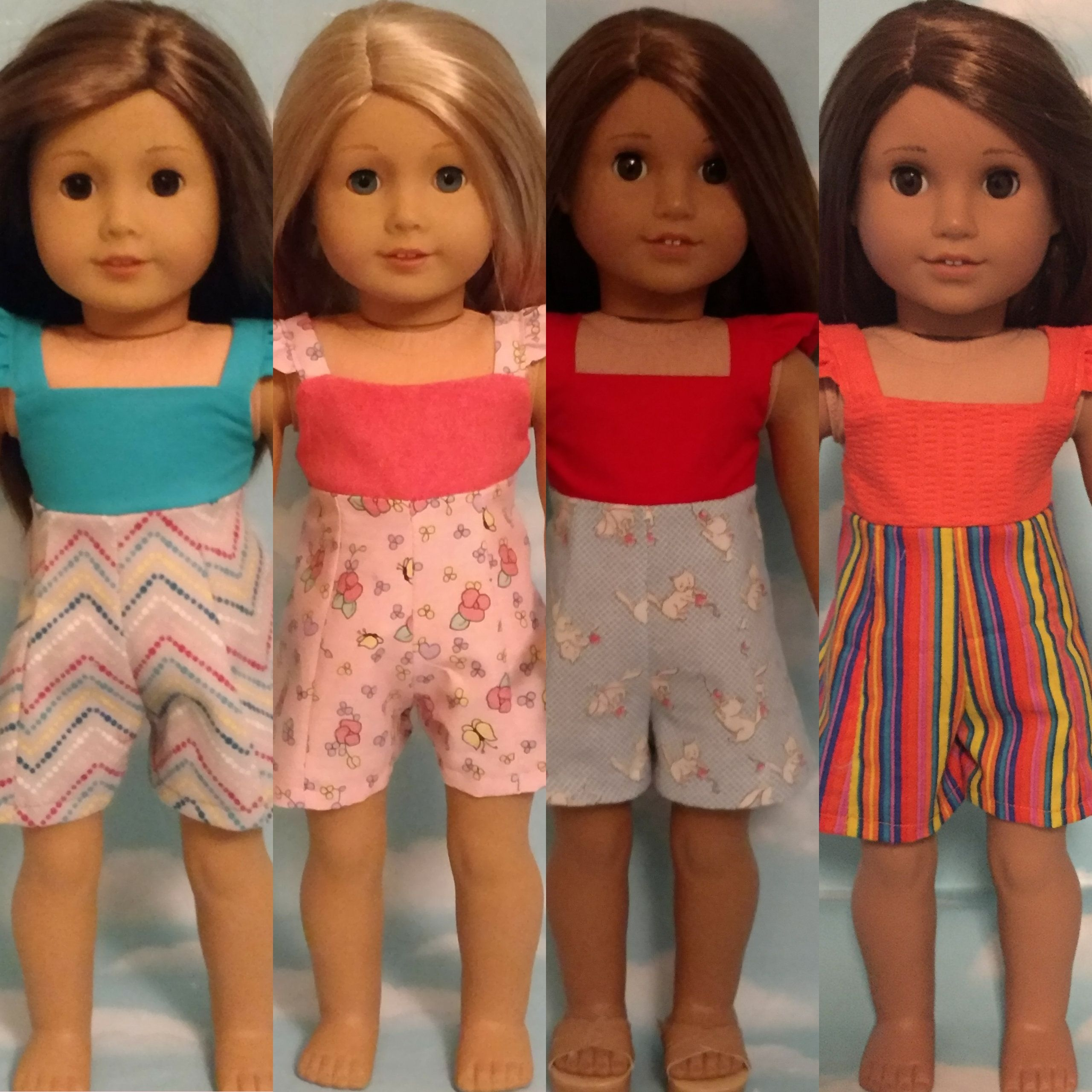 18 inch doll clothes, Jumper fits 18 American Girl Dolls 950abcd #18inchdollsandclothes