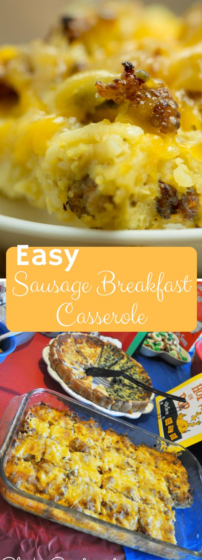 Easy Sausage Breakfast Casserole