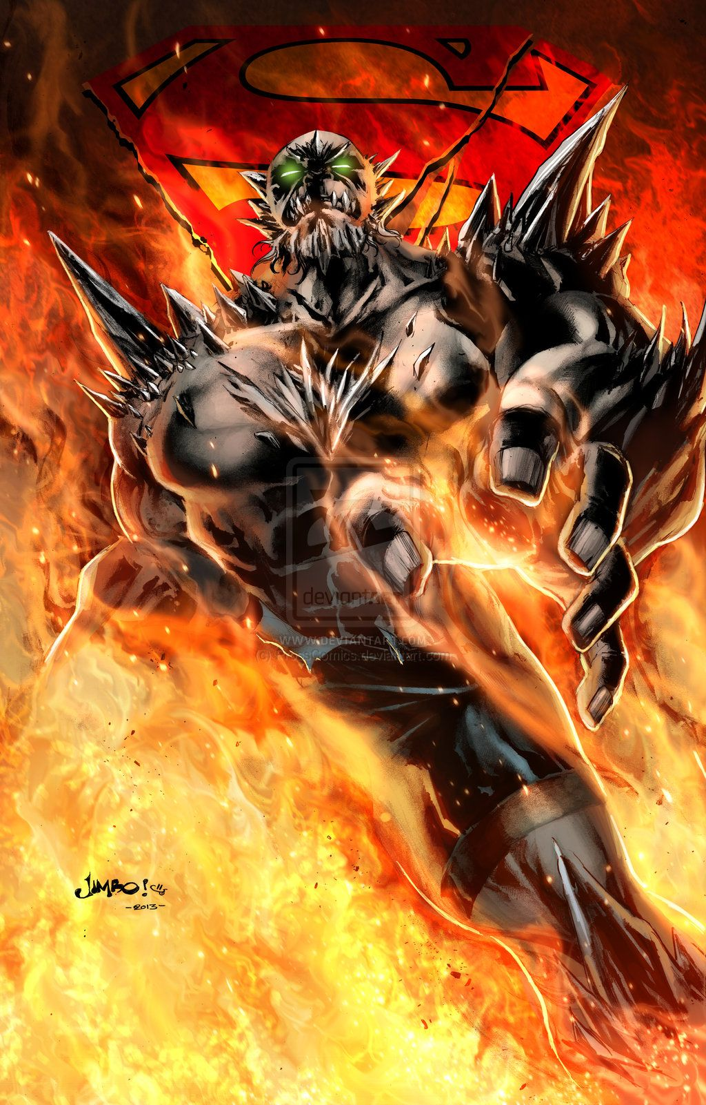 Doomsday By Jimbo Salgado John Pross Prosscomics On