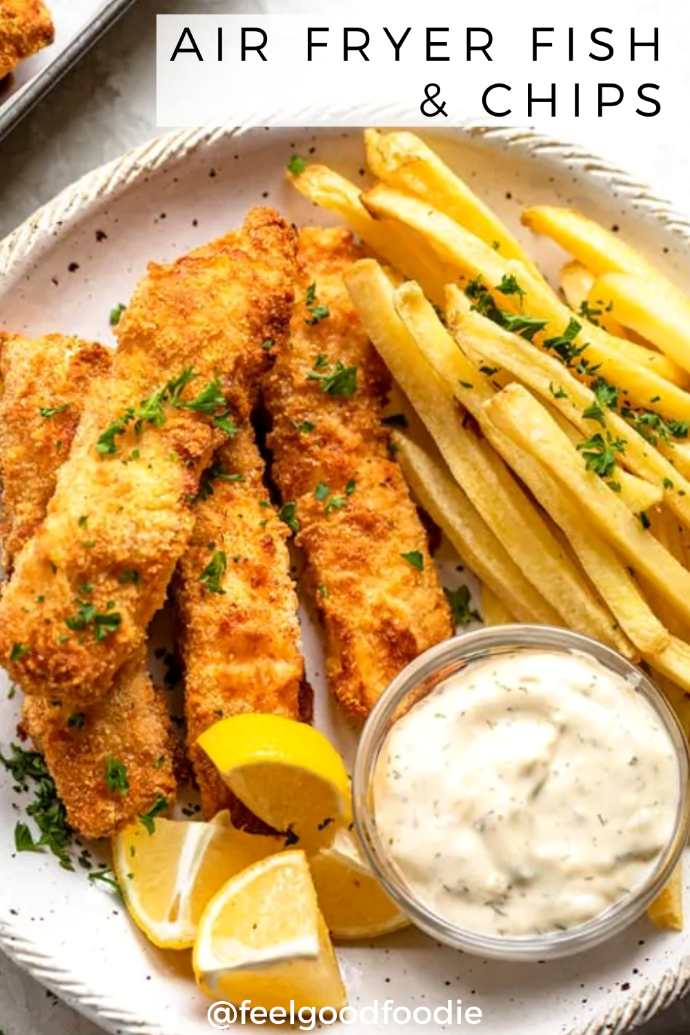 Air Fryer Fish & Chips Recipe in 2020 Recipes