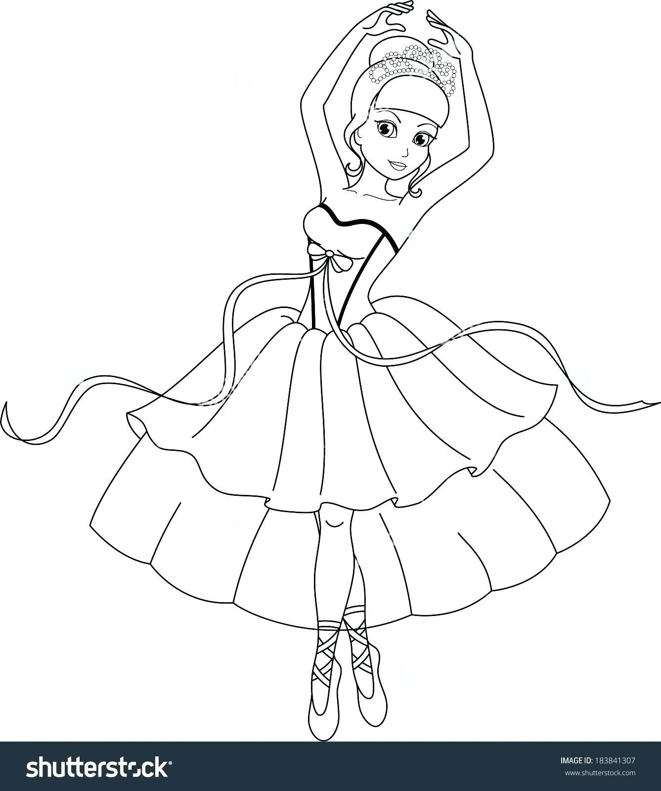 Detailed Ballerina Coloring Pages For Adults Dance Coloring Pages Coloring Pages Ballerina Coloring Pages