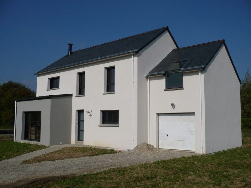 facade maison grise et blanche Maison Grise Et Blanche Enduit Gris Carnac Blanc De La Cote Couleur Façade  Maison, Couleur
