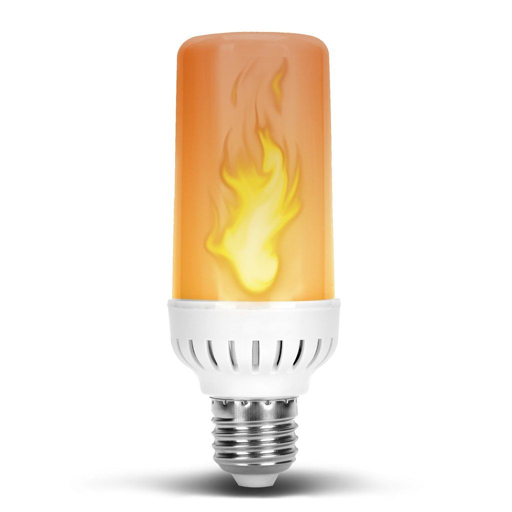 Flame Effect Dc 12 Volt Led Fire Light Bulb Flaming Flicker E26