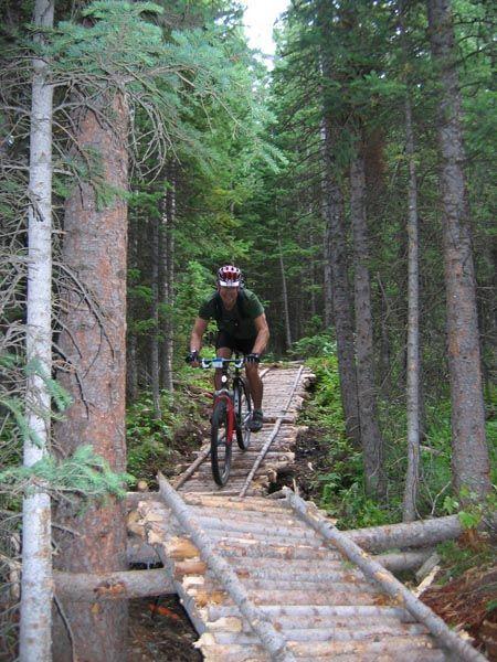 Mountain Biking Trails At White Pine Ski Area White Pine Courtesy