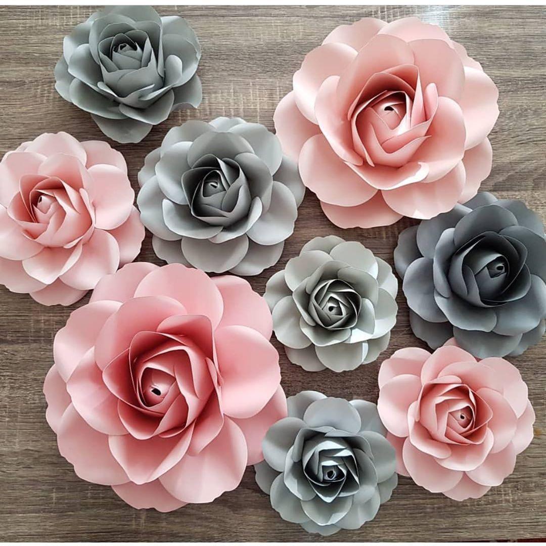 14 Flores de papel para boda paso a paso
