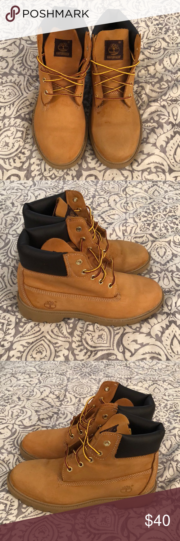 Timberland Boots Size 5 Timberland boots, Youth Boys size 5