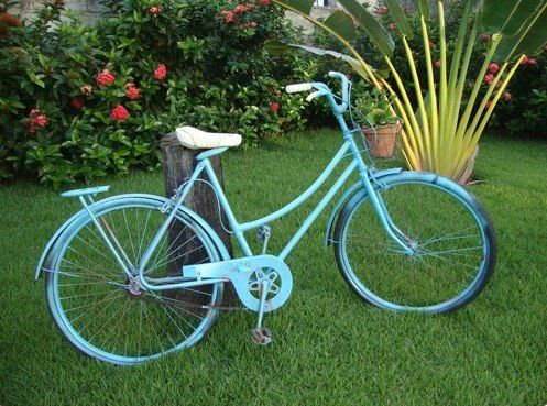 Upcycling Bikes In The Garden – 14 Ideas For Bicycle 400 x 300