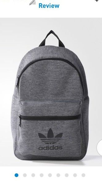f5a484ec8c bag jersey classic adidas backpack adidas backpack grey | Don't Look ...