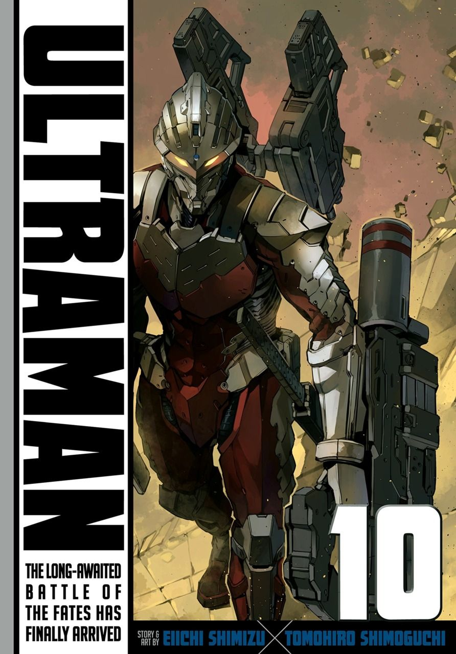 Ultraman 10 Volume 10 (Issue) Shimizu, Superhero