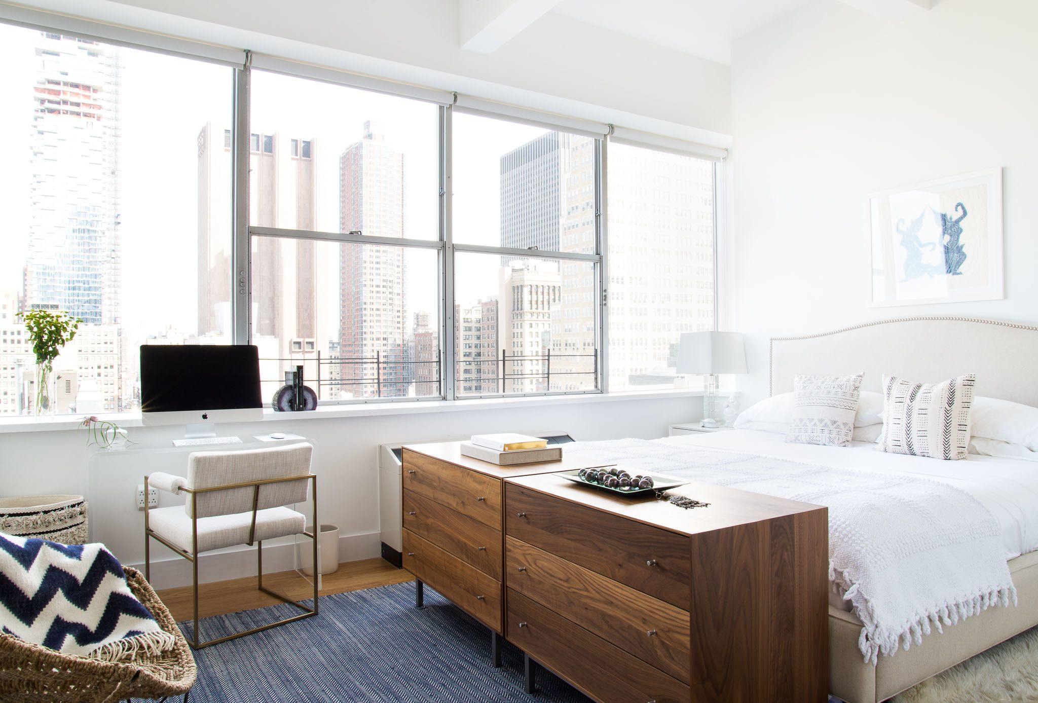 10 Bedrooms that Mix His + Her Styles Seamlessly Nyc