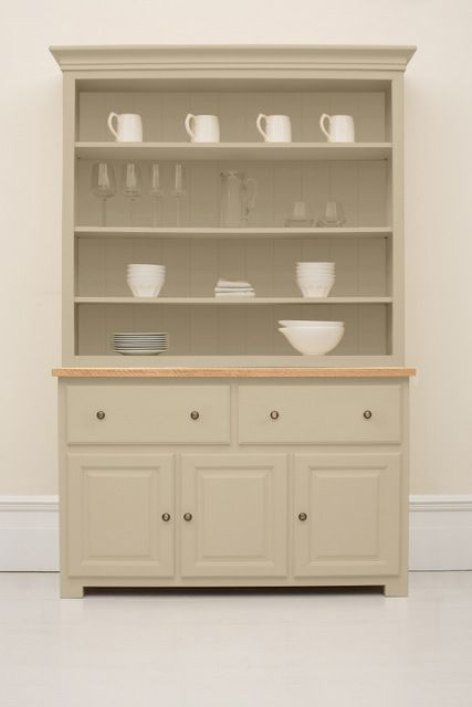 The Studio 019 Kitchen Dresser Painted In Boulder From Company