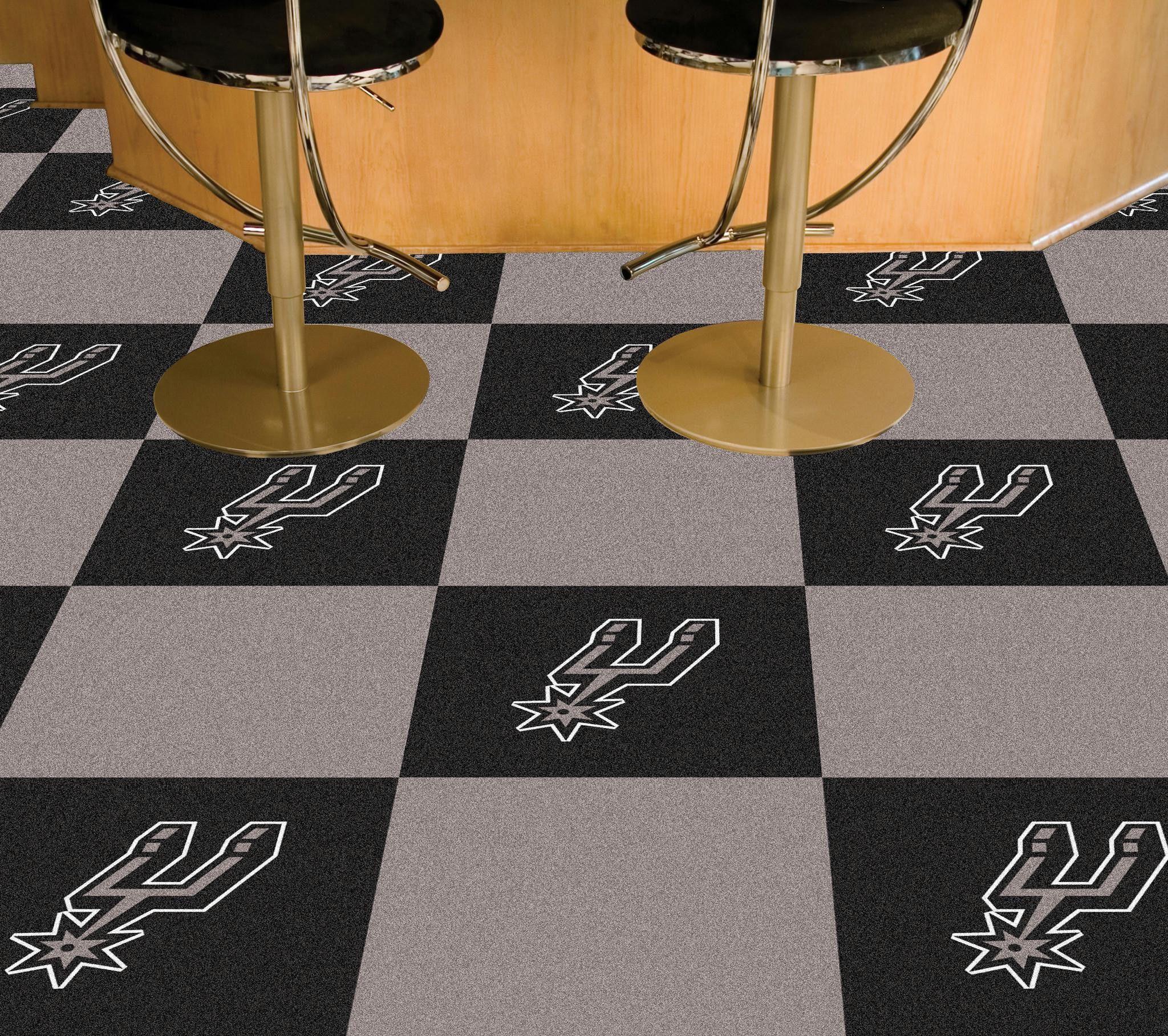 Nba san antonio spurs carpet tiles 18x18 tiles products nba san antonio spurs carpet tiles 18x18 tiles dailygadgetfo Choice Image