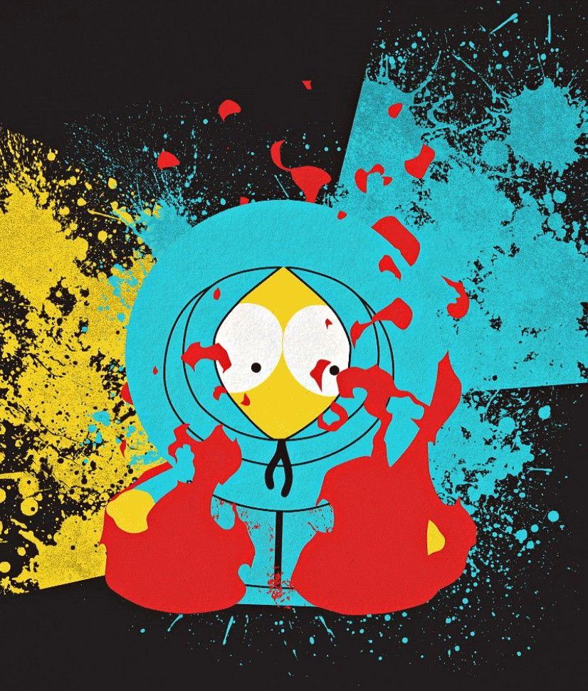 Kenny McCormick, South Park South park, Park, Drawings