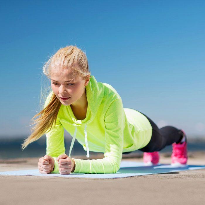 ejercicios para adelgazar brazos sin pesas ejercicios
