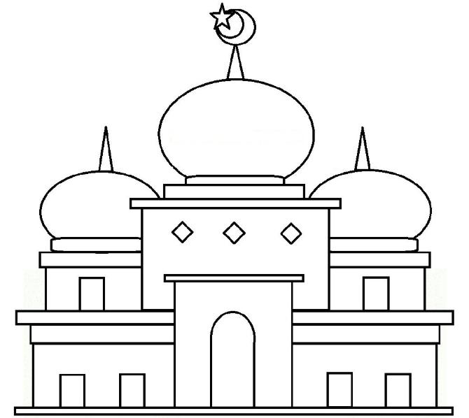 Pilihan Gambar Mewarnai Ramadhan Ini Bisa Anda Pilih Untuk Mengisi Waktu Si Kecil Warna Sketsa Gambar