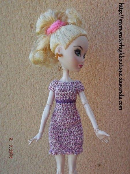 Vestido para Ever after high E65 de My Monster High boutique por DaWanda.com
