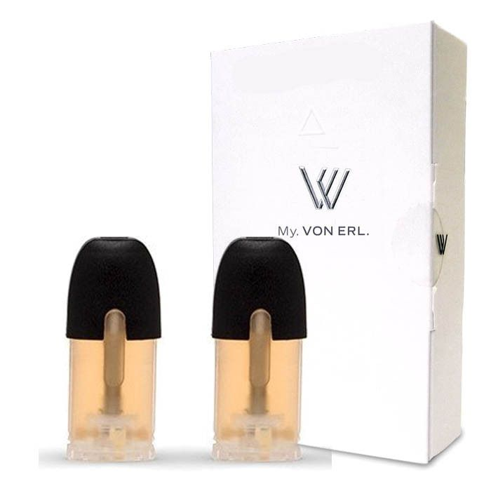 Roper eLiquid My. Von Erl Liquidpods (2-Pack) - A sweet, tart and tangy mixture of fruity goodness stuffed into a tube of licorice candy.Von Erl creates a new category in the vaping market with its new My. Von Erl. The great vaping performance of an e-cigarette combined with the modern design of a cigalike. The 350 mAh battery guarantees a great vaping performance. The My. Von Erl Liquidpods (eJuice) for this e-cigarette give you an intense vaping pleasure with a great taste. The Liquidpods…