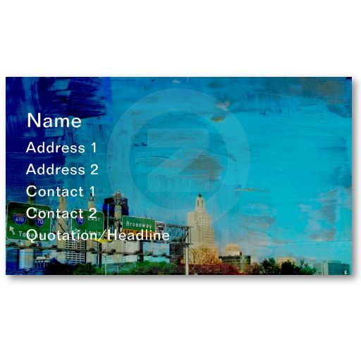 Kansas city business card business cards kansas and business kansas city business card colourmoves