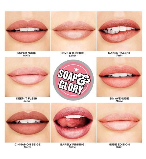 Sexy mouth pucker soap glory