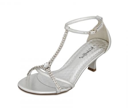 Silver Dress Shoes For Wedding For Sale