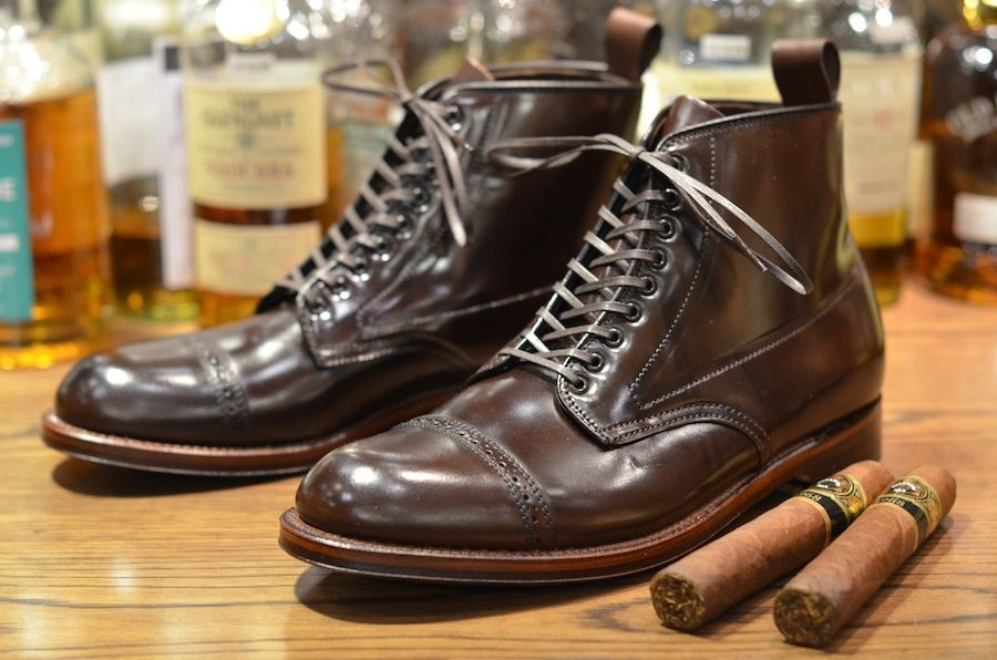 318087504dc Alden Shoes Cigar Shell Cordovan Jumper Boots. $675 | Adam İşi ...