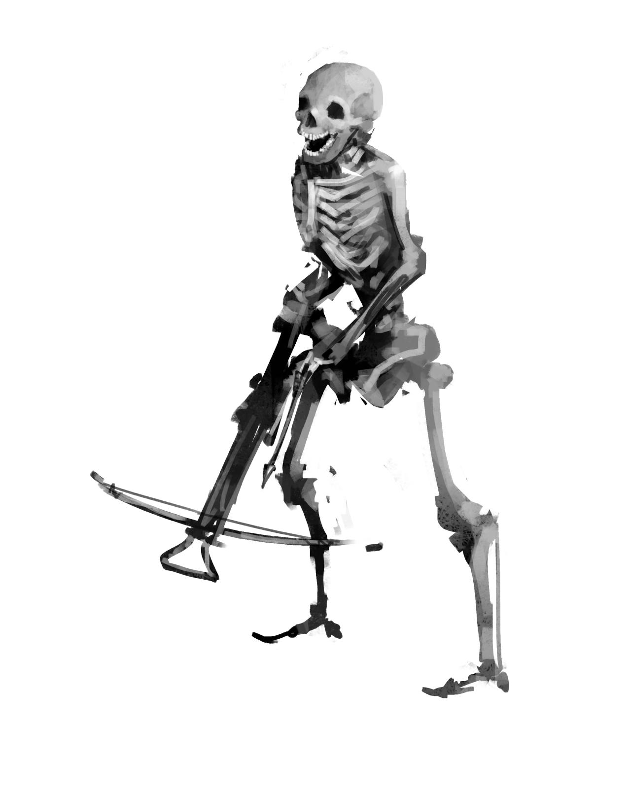 """thisairlockispants:  """"gauntes:  """" skeleton crossbow mercenary  """"  Okay but what does it spend its money on?  """"  Polish, probably"""