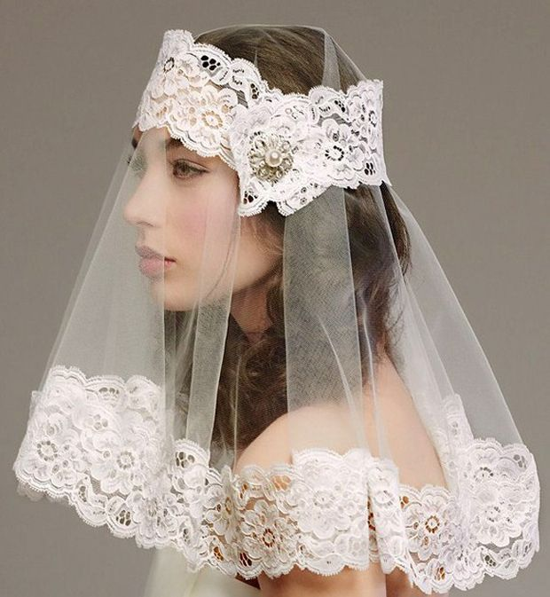 Tuesday Top 10 Modern Veil and Headpiece Ideas for the Fashion Forward Bride | OMG I'm Getting Married UK Wedding Blog | UK Wedding Design and Inspiration for the fabulous and fashion forward bride to be.