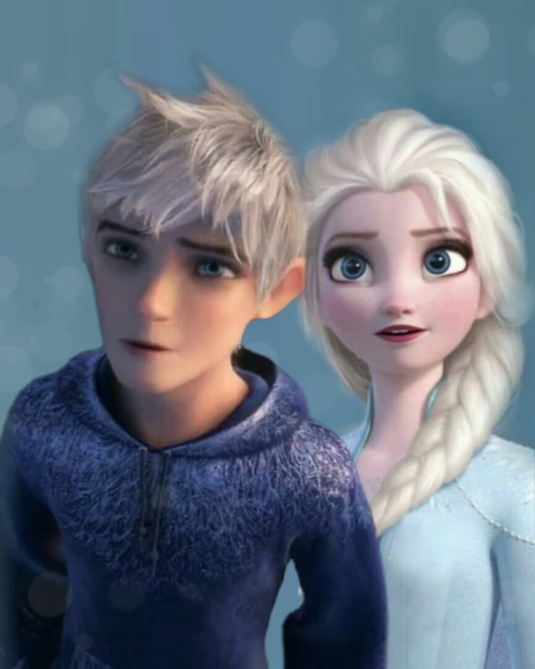 Jack Frost And Elsa Frozen 2 On We Heart It With Images Jack