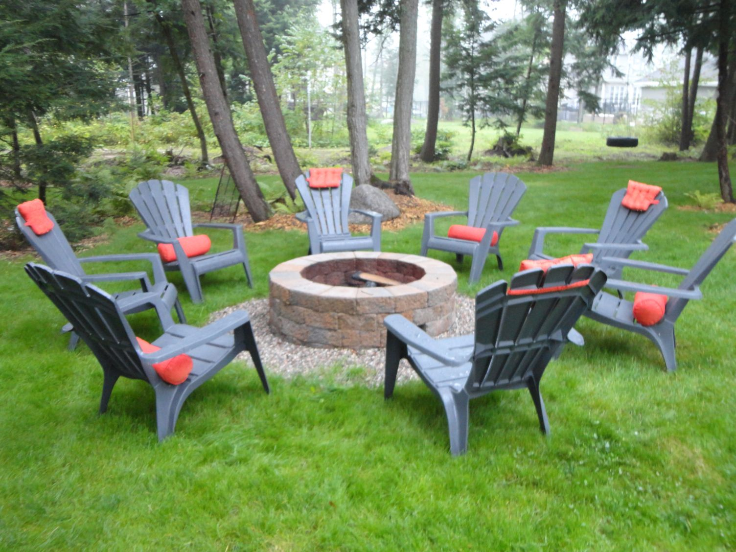 How To Build Your Very Own Stone Fire Pit Outdoor Fire Pit Fire Pit Landscaping Outdoor Fire
