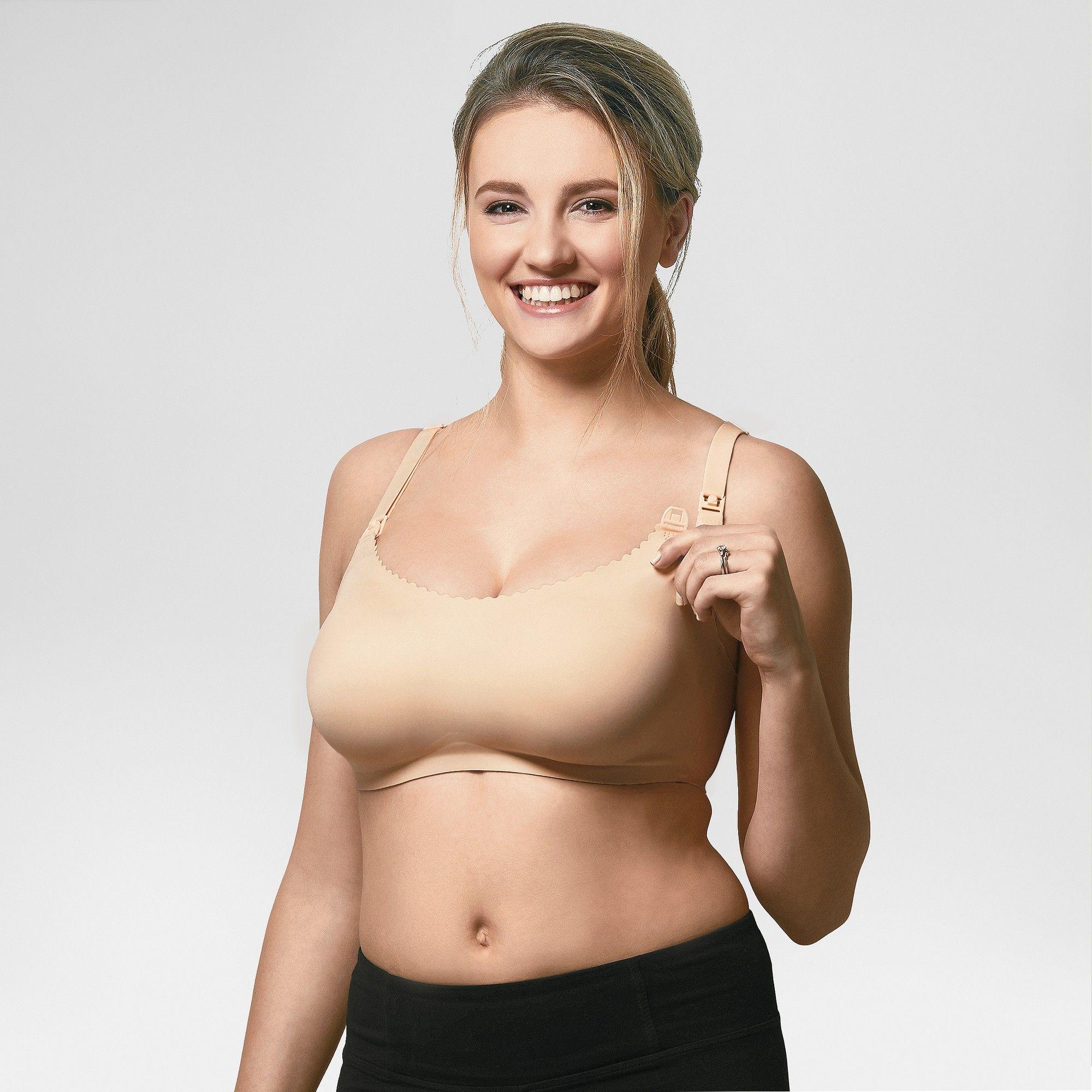 12019d5859aa4 Bravado! Designs Women s Invisible Nursing Bra - Buff Beige XL