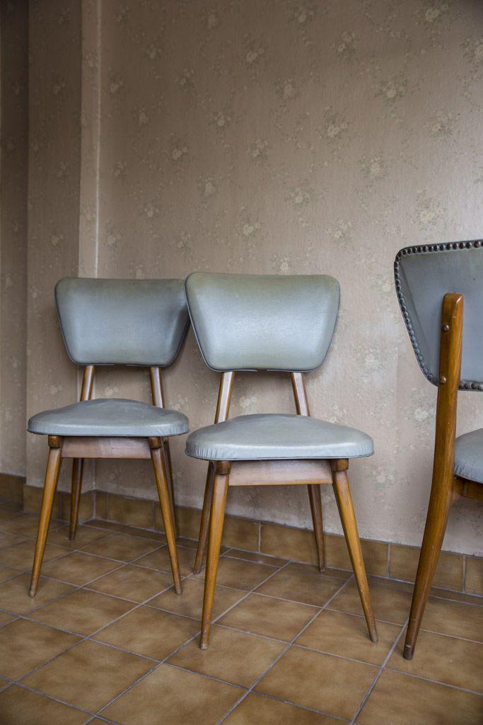 Sillas retro vintage muebles estilo escandinavo faurear - Sillas estilo vintage ...