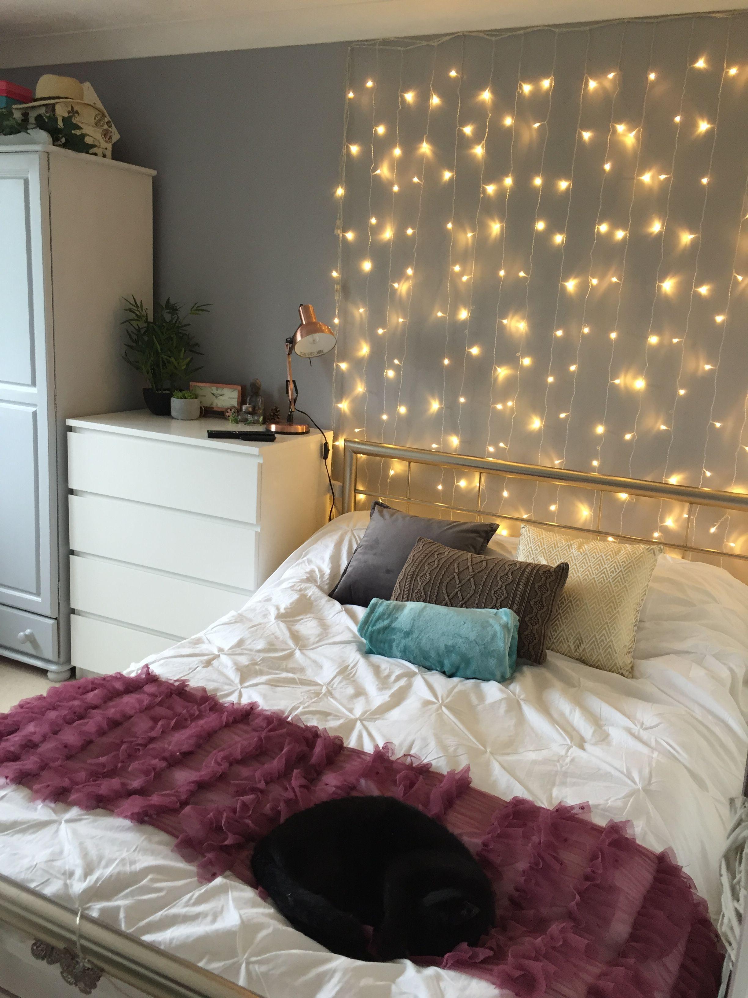lights  aesthetic bedroom teenage girl bedroom