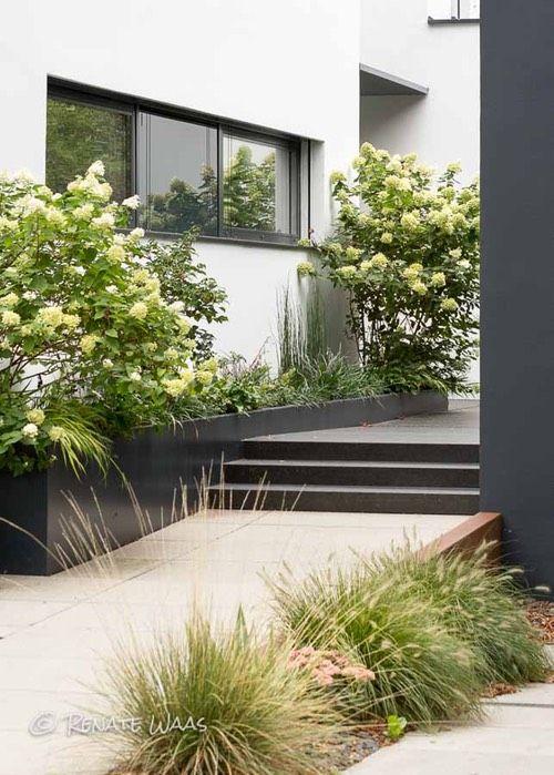 vorgarten modern gestalten | gartengestaltung | pinterest | gardens, Garten und bauen