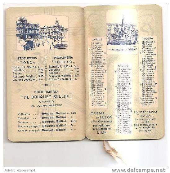 Calendario 1929.54787 Calendario Serie Bouchet Reve D Or Anno 1929
