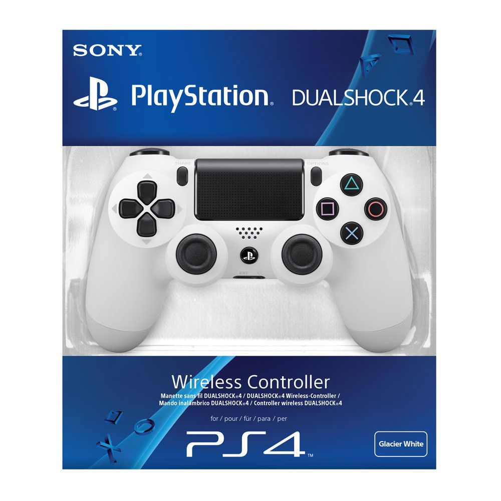 Official Sony Playstation 4 Ps4 Dualshock 4 Wireless Controller White New 12303530450 Ebay Dualshock Playstation 4 Accessories Ps4 Controller