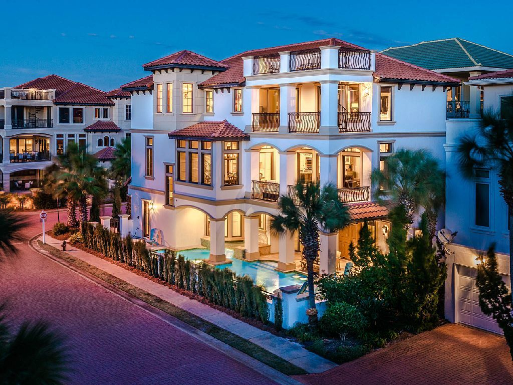 Wahoo Yahoo Private Pool Amp Spa Gulf Views Vrbo Destin Fl Beach Mansion House