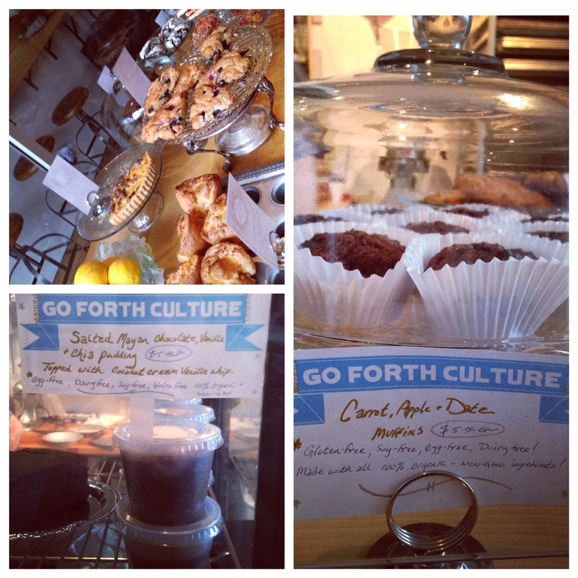 Go Forth Culture foods now available at Ville Velo Bake Shop in PDX Oregon!!