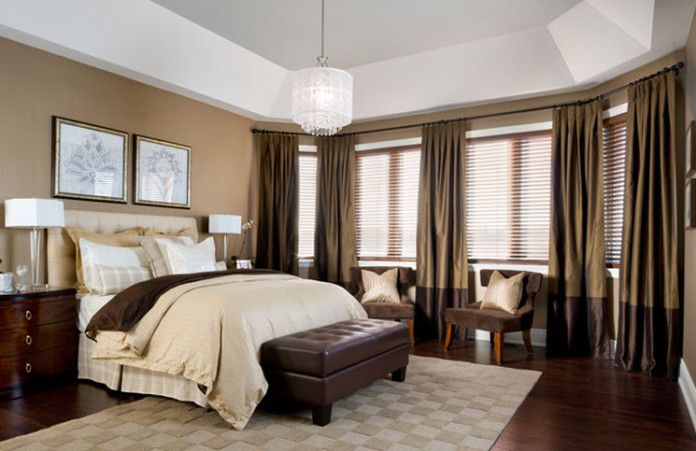 Schokolade getauchte Schlafzimmer -