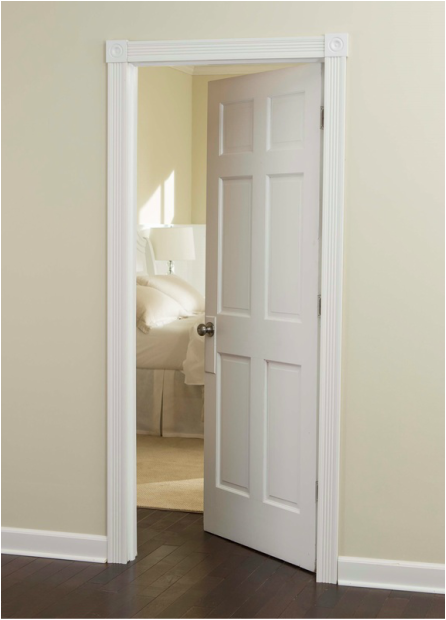 Use Inteplast Building Products Moulding Door Trim Kit to