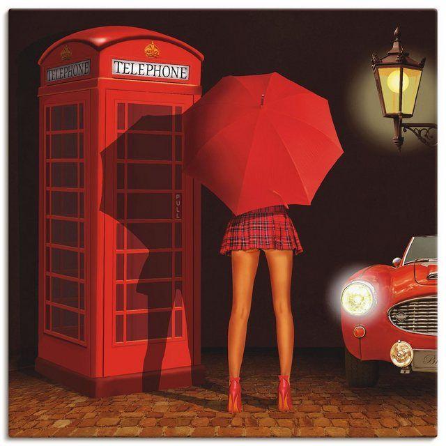 Photo of Artland Art Print Poster »Mausopardia: Call me« online OTTO