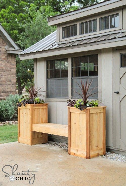 Diy Planter Box Bench Diy Planter Box Diy Planters 400 x 300