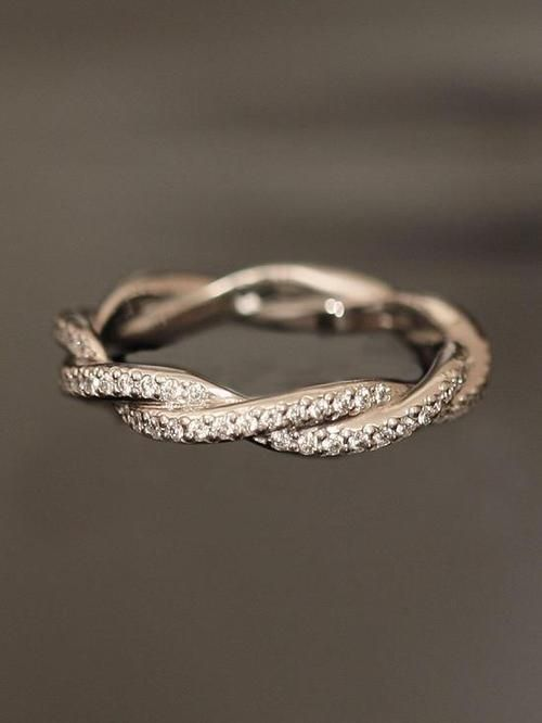 unique wedding rings for her Wedding Rings Pinterest Unique