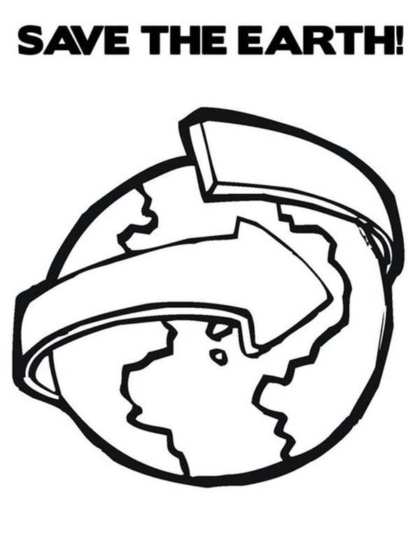 Coloring Picture Earth : Easy earth day coloring pages occupation pinterest earth