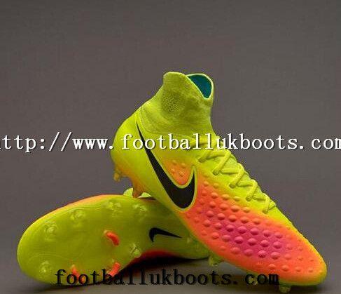 077e87eff0bf Buy Online Nike Mens Magista Orden II FG High Top Football Boots - Volt  Black Total Orange